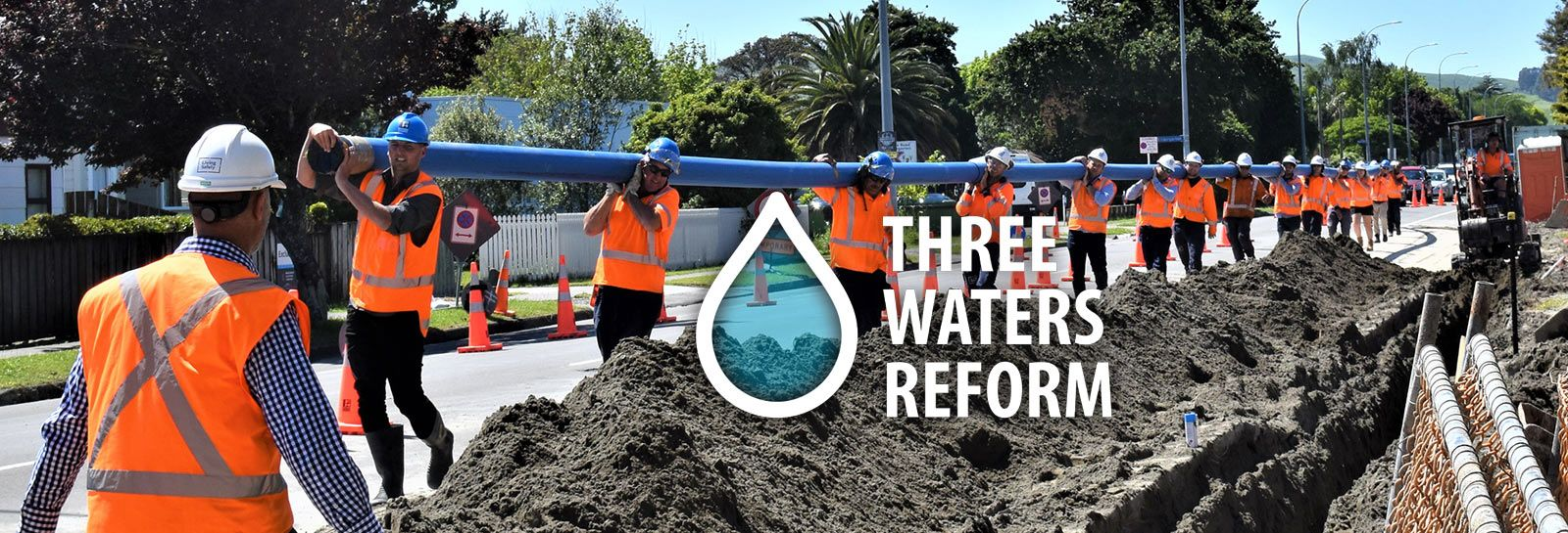 3 waters reform banner image
