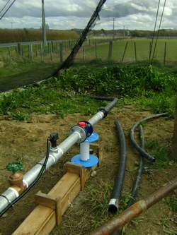 Pump test monitoring
