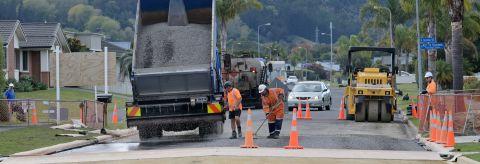 Work progressing on new Potae Avenue road link