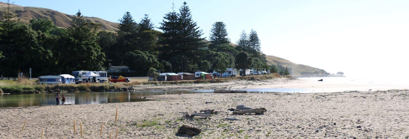 Camping banner image