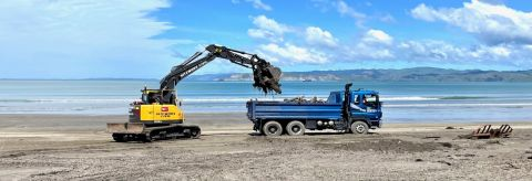Beach clean-up starts today
