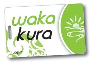 Waka Kura card